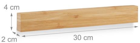 Messerschiene MAGNETLEISTE für Messer 30cm – Bild 5
