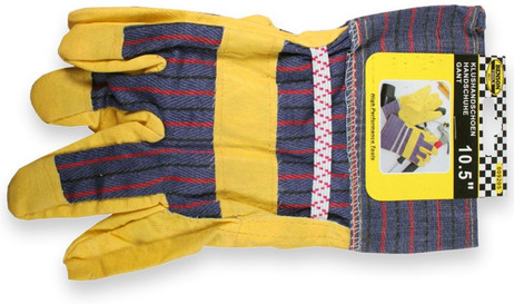 Arbeitshandschuhe Garten-HANDSCHUHE Riggerhandschuhe Amerika 10,5' ca. 26cm – Bild 3