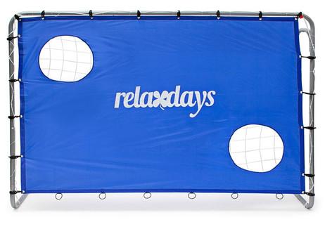 Goal! FUSSBALLTOR mit Torwand 212×152×76cm – Bild 2