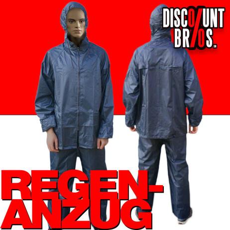 Leichter Regenschutz REGENANZUG Regenjacke + Hose M L XL XXL XXXL – Bild 1