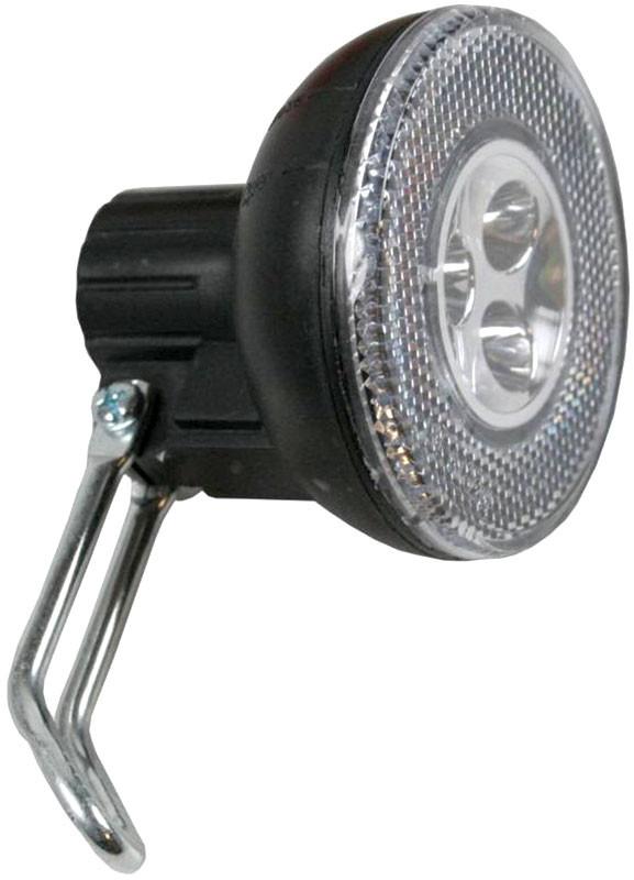Sport VELOLICHT mit 3 LED Fahrrad Velolampe Scheinwerfer Frontscheinwerfer SCHWARZ