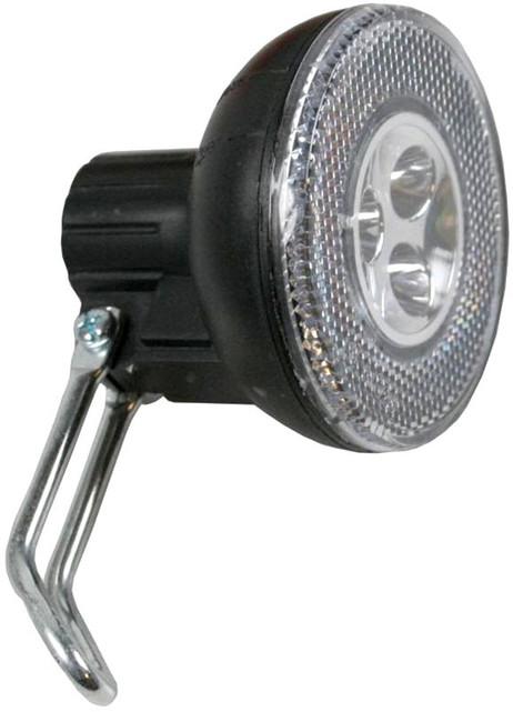 Sport VELOLICHT mit 3 LED Fahrrad Velolampe Scheinwerfer Frontscheinwerfer SCHWARZ – Bild 3