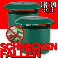 2er-Set Schneckenfänger SCHNECKENFALLE Bio Schneckenschutz
