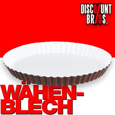Antihaftbeschichtetes WÄHENBLECH RUND Obstbodenform Obstkuchenform keramikbeschichtet Ø28cm – Bild 1