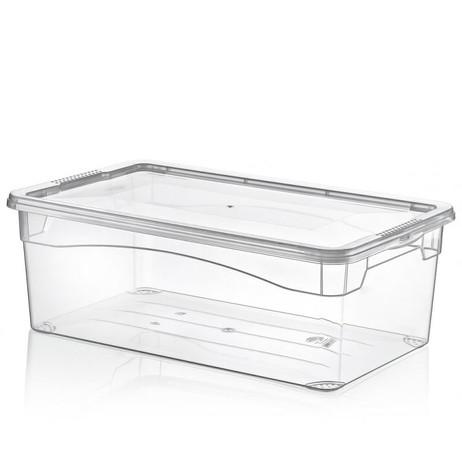 MULTI BOX Aufbewahrungsbox SCHUHBOX Damen transparent – Bild 2