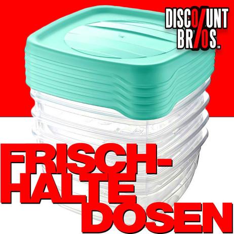 5 × 0,25 Liter Frischhaltedosen VORRATSDOSEN SET Aufbewahrungsbox Frische Box – Bild 1