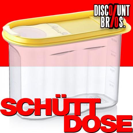 1,2 Liter SCHÜTTDOSE Vorratsbehälter Cerealien Box Aufbewahrungsbox VORRATSDOSE Frischhaltedose – Bild 1