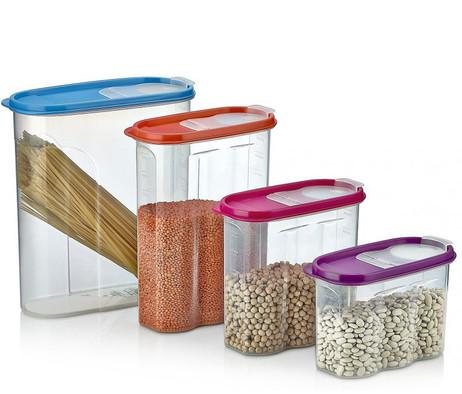 2,4 Liter XL SCHÜTTDOSE Vorratsbehälter Cerealien Box Aufbewahrungsbox VORRATSDOSE Frischhaltedose – Bild 4