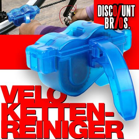 Velo Fahrrad KETTENREINIGUNGS-GERÄT Werkzeug mit Tank und 6 rotierenden Bürsten – Bild 1