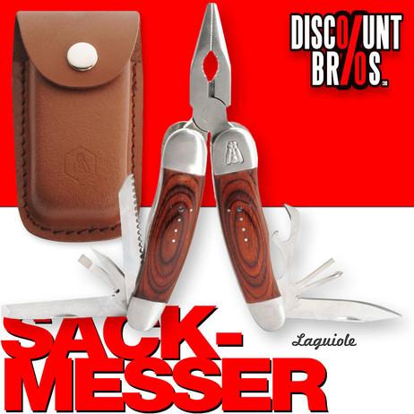 Multifunktions MESSER Sackmesser Taschenmesser mit Zange Multitool Werkzeug mit Holzgriff von Laguiole