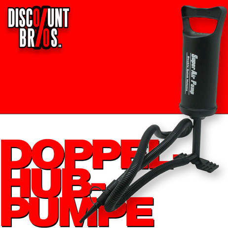BENSON Pumpe DOPPELHUBPUMPE Luftpumpe Air Pump klein 1400ccm – Bild 1