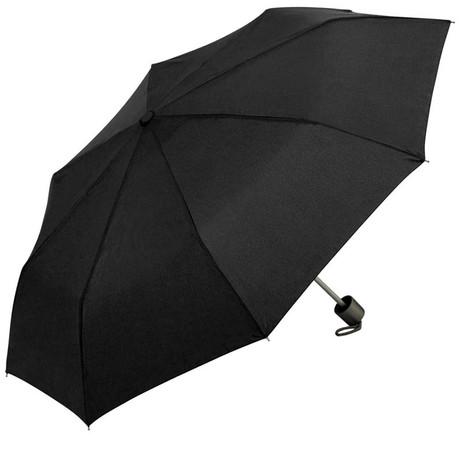 Mini Notfall REGENSCHIRM Knirps Taschen-Regenschirm SCHWARZ – Bild 4