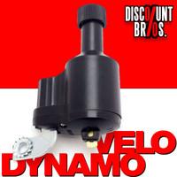 Fahrrad- Velo- DYNAMO Seitenläuferdynamo Metall 6V 3W SCHWARZ