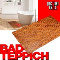 Bambus BADVORLEGER Badteppich 80×50cm 001