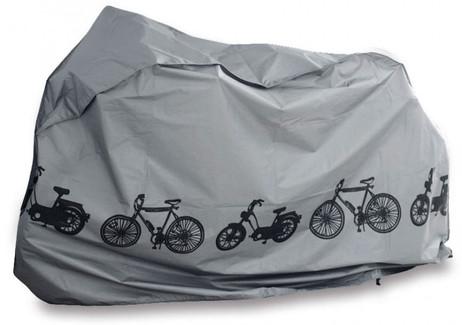 Wasserdichte VELO-GARAGE Fahrradgarage Fahrradschutzhülle Veloblache Plane Abdeckung SCHWARZ oder GRAU – Bild 6