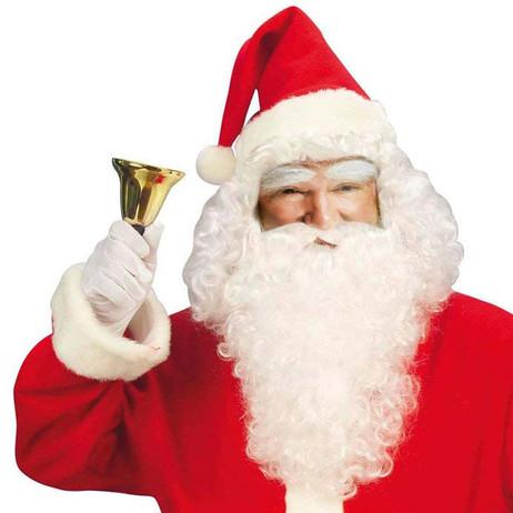Weihnachtsglocke SAMICHLAUSGLOCKE Tischglocke Weihnachtsmann Weihnachtsmannglocke Santa Claus Glöckchen Glocke Handglocke Weihnachtszubehör – Bild 3