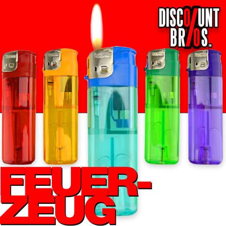 Elektronik FEUERZEUG farbig transparent nachfüllbar – Bild 1