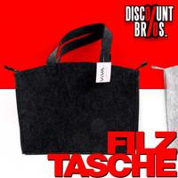 Tragetasche FILZTASCHE Einkaufstasche Tasche 36×27×6cm 001