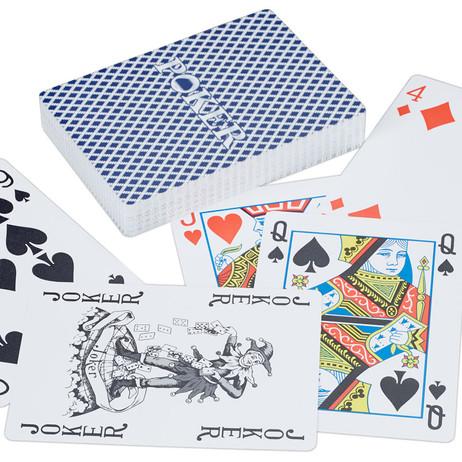 Wasserfeste PROFI Jasskarten POKERKARTEN Kartenspiel Kartendeck Spielkarten Kunststoff – Bild 2