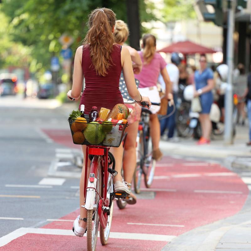 VELOKORB Fahrradkorb für Gepäckträger