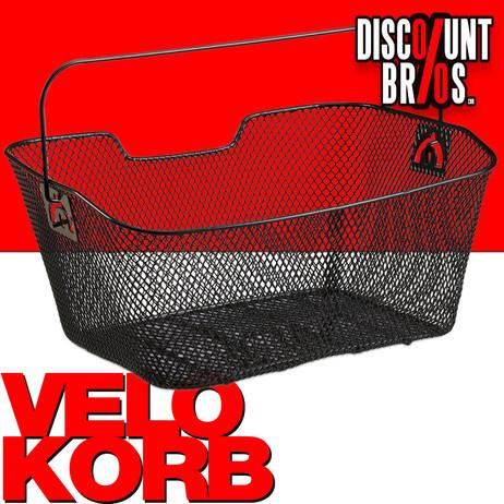 VELOKORB Fahrradkorb für Gepäckträger – Bild 1