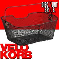VELOKORB Fahrradkorb für Gepäckträger 001