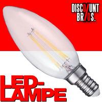A++ 2W LED Leuchtmittel Licht Kerze Filament LED LAMPE Glühbirne Klassisch  C35 e14 WARMWEISS 001