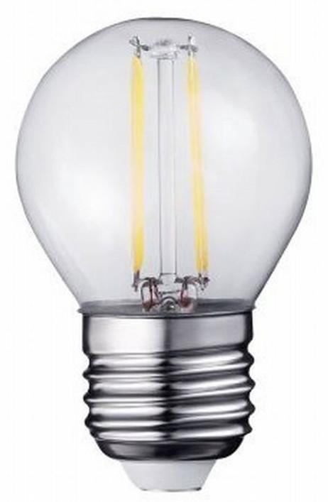 A++ 2W LED Leuchtmittel Licht Filament LED LAMPE Glühbirne Klassisch  G45 e27 WARMWEISS – Bild 2