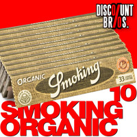 10 × SMOKING Organic Hemp King Size Papers 10 × 33 Blatt Zigarettenpapier