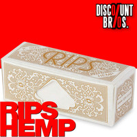 RIPS HEMP Hanf King Size Papers Braun Rolle 5m Zigarettenpapier 5m×53mm