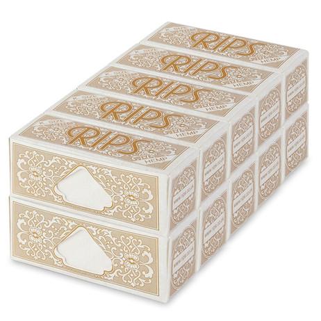 10 × RIPS HEMP Hanf King Size Papers Braun 5m Zigarettenpapier 5m×53mm – Bild 3