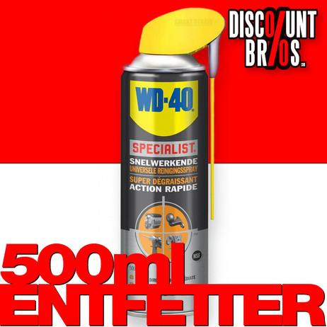 WD-40 Specialist Spezial Entfetter 500ml Universalreiniger mit Smart Straw  – Bild 1