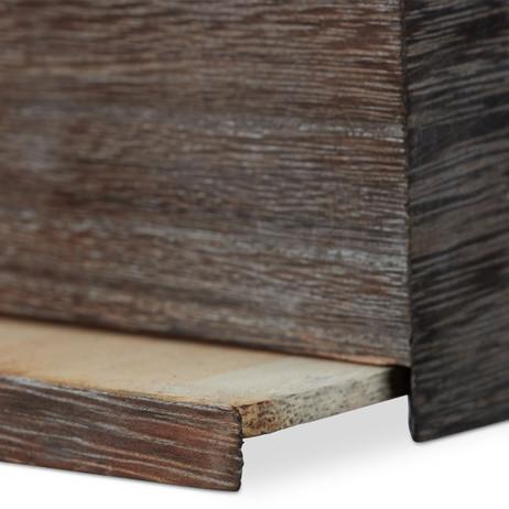 KOSMETIKTÜCHERBOX Tücherbox Tuchspender aus Paulowniaholz im Shabby-Style – Bild 5