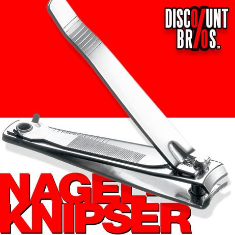 NAGELKNIPSER mit Nagelfeile 80mm – Bild 1