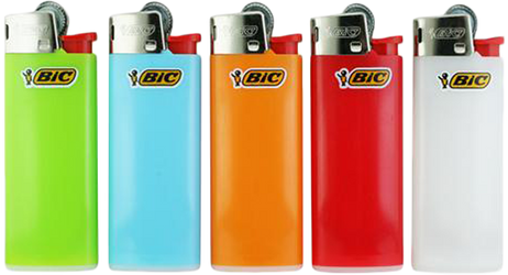 10 Stk. BIC® Einwegfeuerzeuge MINI FEUERZEUGE farbig – Bild 2