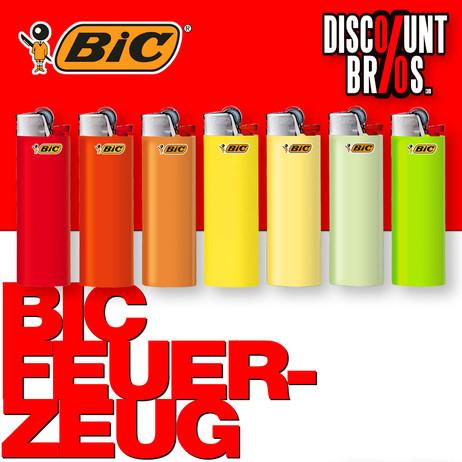 BIC® Einwegfeuerzeug MAXI FEUERZEUG farbig – Bild 1