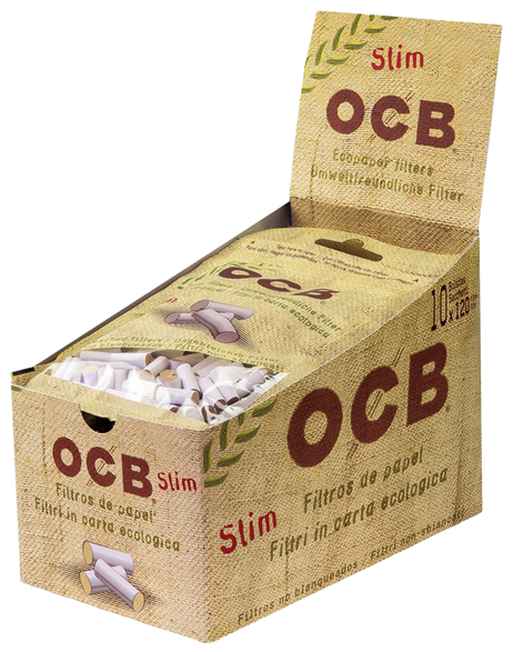 120 Stk. OCB BIO Filter Tips SLIM – Bild 3