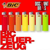 50 Stk. BIC® Einwegfeuerzeuge MAXI FEUERZEUGE farbig