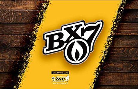 BIC BX7 F23 Einwegfeuerzeug FEUERZEUG farbig  – Bild 4
