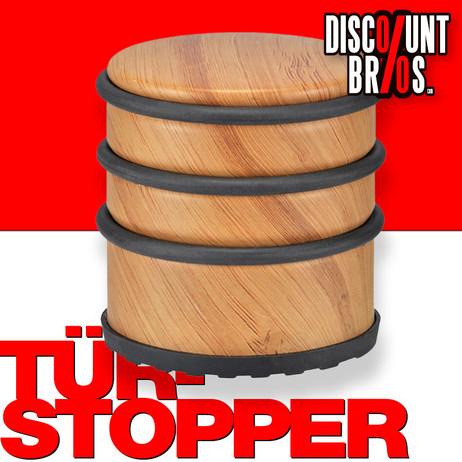 Luxus TÜRSTOPPER im Holzdesign (hoch) – Bild 1