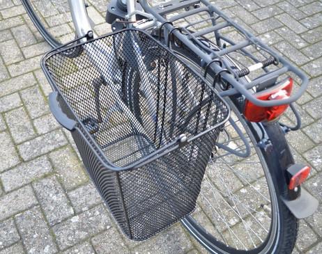 VELOKORB Fahrradkorb seitlich 33×24×32cm – Bild 3