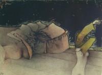 ZURIGO handsignierte original Lithographie von Bruno Bruni