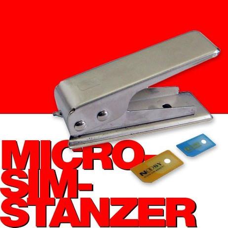 Micro SIM Stanzwerkzeug und SIM Karten Adapter für iPad und iPhone 4 / 4S – Bild 1