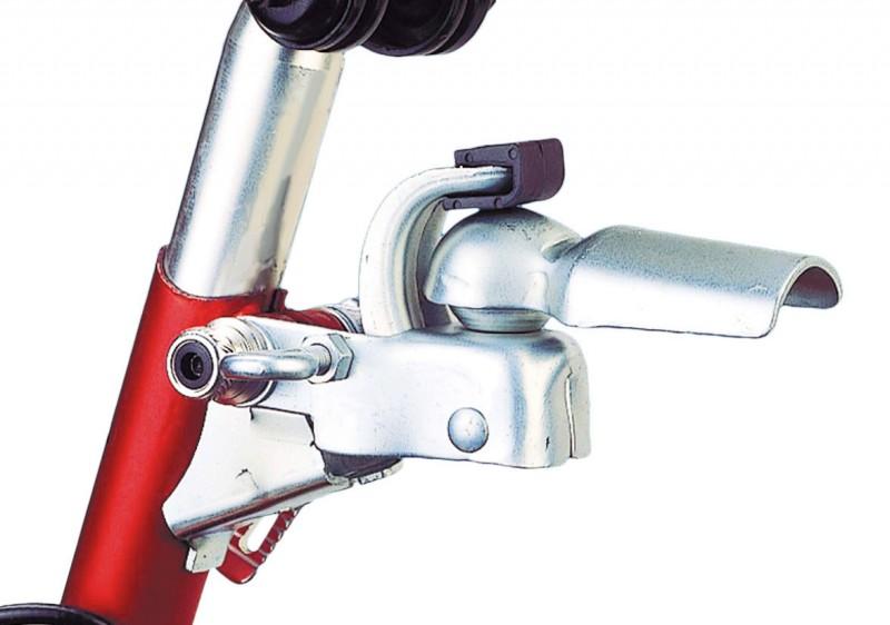 ANHÄNGERKUPPLUNG fürs Velo Fahrrad