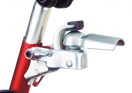 ANHÄNGERKUPPLUNG fürs Velo Fahrrad – Bild 3