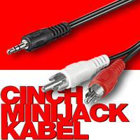 CINCH-MINIJACK KABEL 3m 001