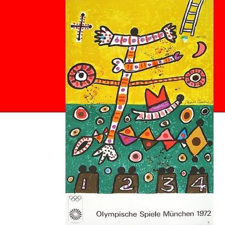 Alan Davie: Olympische Spiele München 1972 in limitierter Auflage – Bild 1