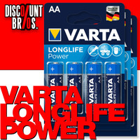 12 Stk. VARTA 4906 Longlife Power Batterien AA Mignon LR6 High Energy 001
