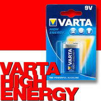 VARTA 4922 High Energy Alkaline Batterie 9V Block E 6LR61