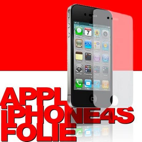 SKIN-SCHUTZFOLIE Front und Rückseite iPhone 4 4S – Bild 1
